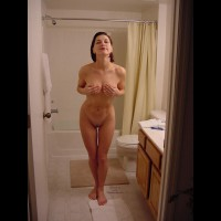 Dressed With Hand Bra - Brunette Hair, Milf, Shaved Pussy, Nude Amateur, Nude Wife , Covering Tits, Short Haired Brunette, Nude Friend's Wife, Bathroom Milf Pose, Sexy Hips, Tit In Hand Nude, Clean And Perky, Bathroom Babe, Fit Milf Coving Her Tits