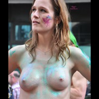 Painted Tits In Public - Firm Tits, Perky Tits , Small Nipples, Nice Boobs, Painted Firm Tits, Glitter Gal, Perky Painted Titties, Fairy Tits, Street Voyeur, Painted Body, Errected Nipples.
