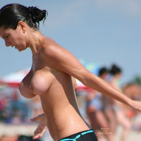 Nonproportional Tits - Big Tits, Black Hair, Huge Tits, Topless Beach, Topless, Beach Tits, Beach Voyeur , Bouncing Beach, Action Boobs, Body In Motion, Huge Bouncing Tits, Tits Bouncing, Candid Beach Shot, Topless On The Beach, Black Boyshorts