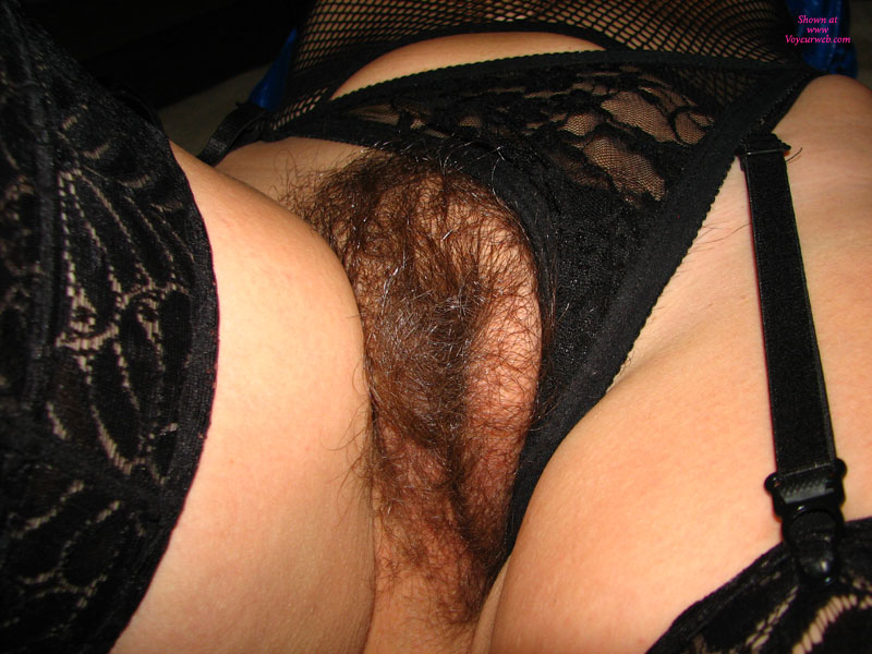 Dark Pubic Hair - Black Hair, Dark Hair, Pubic Hair , One Sexy Twolly, Out Of Control Beaver, Girlfriend In Lingerie, Hairy Pussy Close Up, Shiny Cunt Hair, Black Lingerie