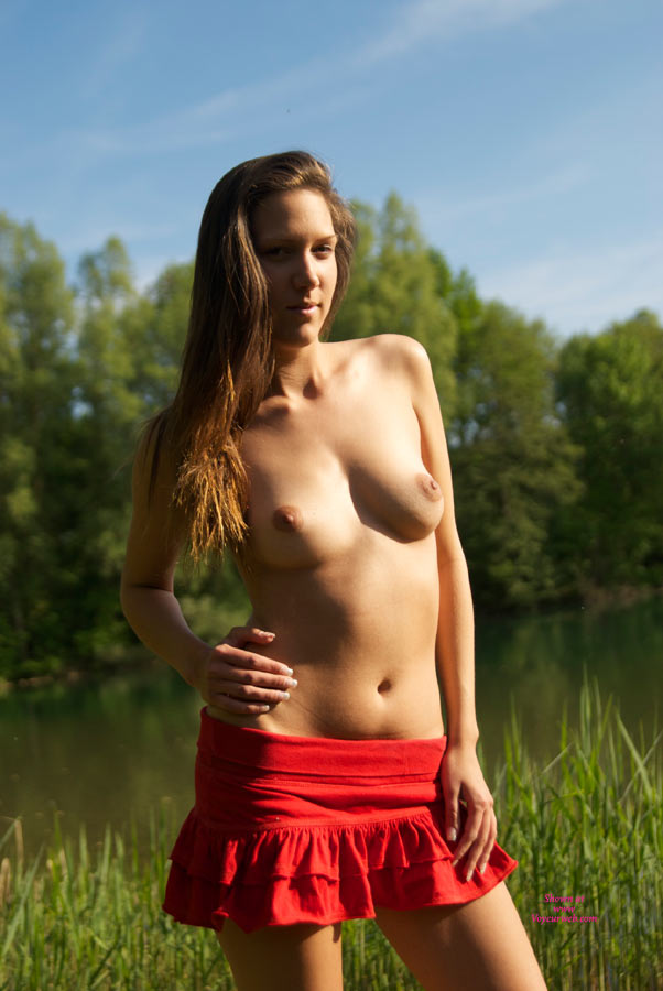 Low Waist Miniskirt On Topless Girl - Brunette Hair, Long Hair, Topless , Young Brunette Beauty, Slender Naked Young Lady, Long Brunette Hair, Topless Outdoors, Nice Natural Boobs, Hot Fucking Body, Lickable Tits, Topless Amateur, Puffy Nips