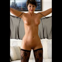 Black Stockings - Perky Tits, Shaved Pussy, Shaved, Stockings , Black Stockings, Perky Tits, Lacy Stockings, Shaved Pussy, Exposed Milfs, Thigh High, Shaved