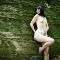 Creamy White Topless Nude - Small Tits, Topless , Smallish Tits, Small Attractive Tits, Alabaster Beauty, Bare Foot, Dark Haired Fair Skinned, Topless Outdoor, Topless Me