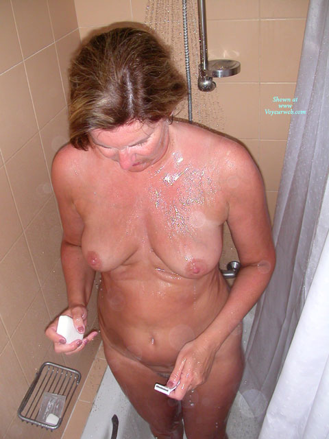 Pic #1Showering Wife