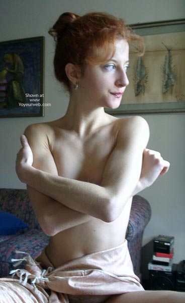 Skinny - Redhead , Skinny, Redhead, Covered Boobs