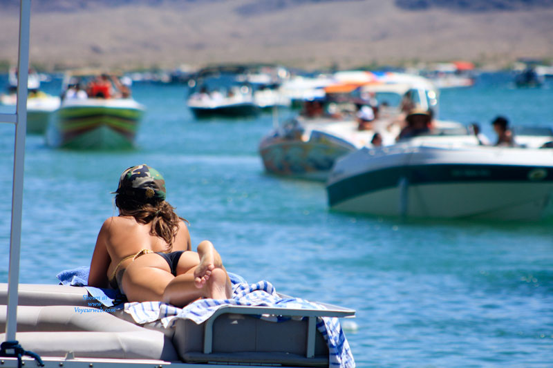 Havasu Pasties , Lake Havasu....nudity Is Not Allowed, And Strictly Enforced.  But Pasties Are Legal...here's Just A Glimpse Of The Memorial Day Weekend...