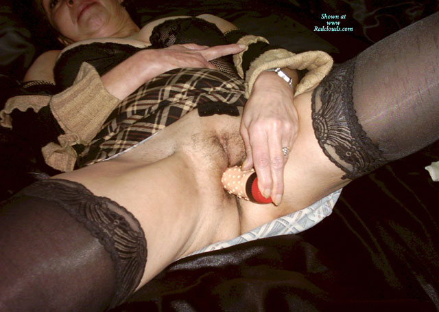 Homemade masturbation device at home