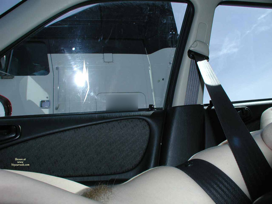 Nude Wife Flashing Truckers - Dark Hair, Flashing Tits, Flashing, Nude Amateur, Nude Wife , Truckers Delight, Flashing Pussy For Truck Driver, Dark Pubic Hair, Trucker Teaser, Red Bush, Truck Flasher, Truck Teaser, Nude Strapped In