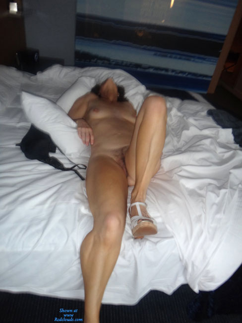 Wife naked hotel