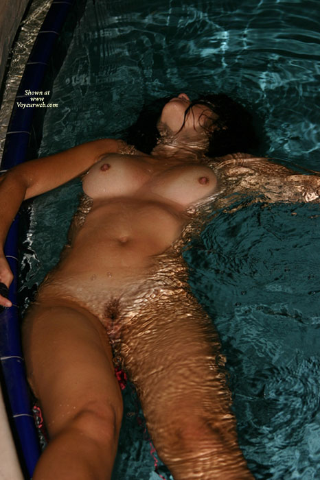 Nude Milf Floating In Pool - Black Hair, Dark Hair, Hard Nipple, Milf, Hot Wife, Nude Amateur , Floating Nude, Wet Pussy, Holding My Breath, Small Hard Nipples, Relaxed And Wet, Floating Tits Up, Floating On Her Back, Nude In Swimmingpool, Pool Naked