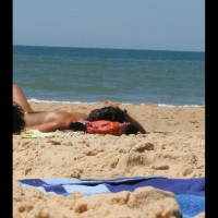 French Beach 2010 Part 2 , This Is An Other Beauty On The Beach . At First She Kept All Her Goods Hidden... But Then I Got A Nice Shot Of Her Face...  Then Two Days Later She Laid Directly Beside Me Without Her Friend And Then She Did Leave Her Top And Laid Down....