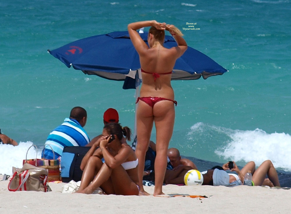 South Beach Sunshine , God Bless South Beach And It's Bountiful Beauties Basking In The Sunshine.