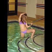 Amanda At The Hotel Pool 2 Of 2