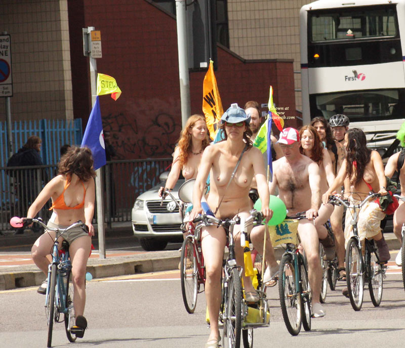 WNBR Bristol , Fun Bike Ride Witnessed In Bristol On The 19 June 2011