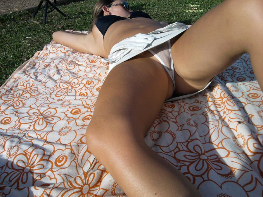 Nothing Wife upskirt panties