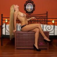 Bedroom Blonde Topless With High Heels - Blonde Hair, Heels, Long Hair, Long Legs, Topless, Naked Girl , Spectacular Torso, Elagant Pose, Lone Blonde Hair, Topless Amateur, Nice Legs, Nude Girl In Heels, Beautiful Breast