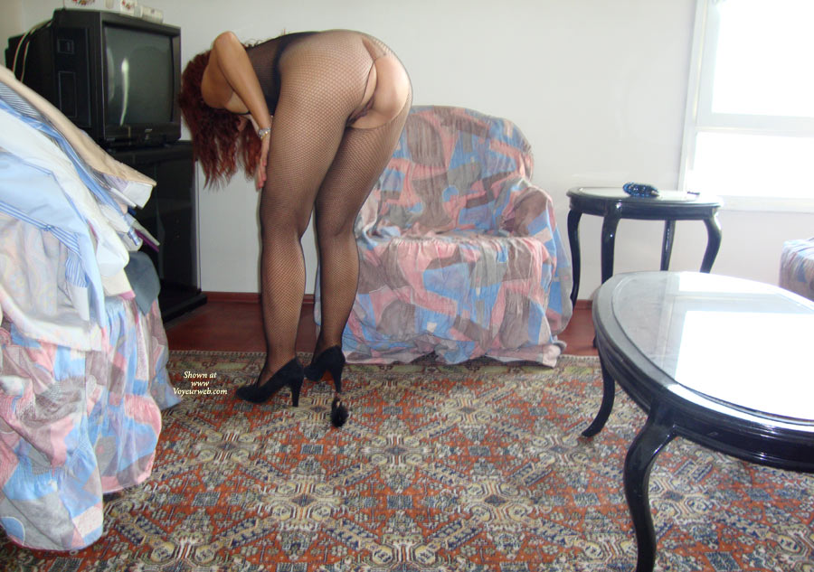Wife , Participation In Some Body Stockings. My Wife Loves To Show You Her Body.
