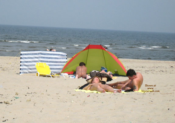 Noordzee, First Day Of Summer , This First Day Of Summer Again. The Noordzee Nudebeach Was Already Attracting Some Nice Girls!