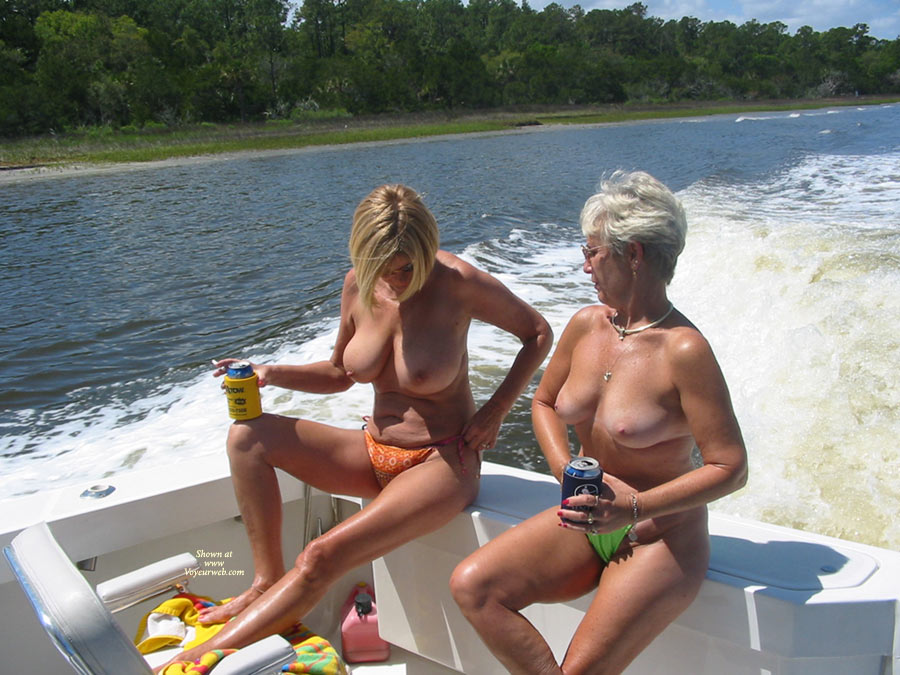Jilli's Boat Ride , Hi Guys, We Just Got Back From A Deep Sea Fishing Trip In The Atlantic. We Were On Our Way Back To Port And Our Husbands Asked Our Guide If He Would Mind If They Took Some Pictures Of Us Girls Nude. He Said Hell Yes. After A Few Beers Things Got A Little Wilder But That's Another Conti. Hope You Enjoy Hugs Jilli