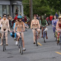 Fremont Solistice Festival , Some Photos From Old Fremont World Naked Bike Rides