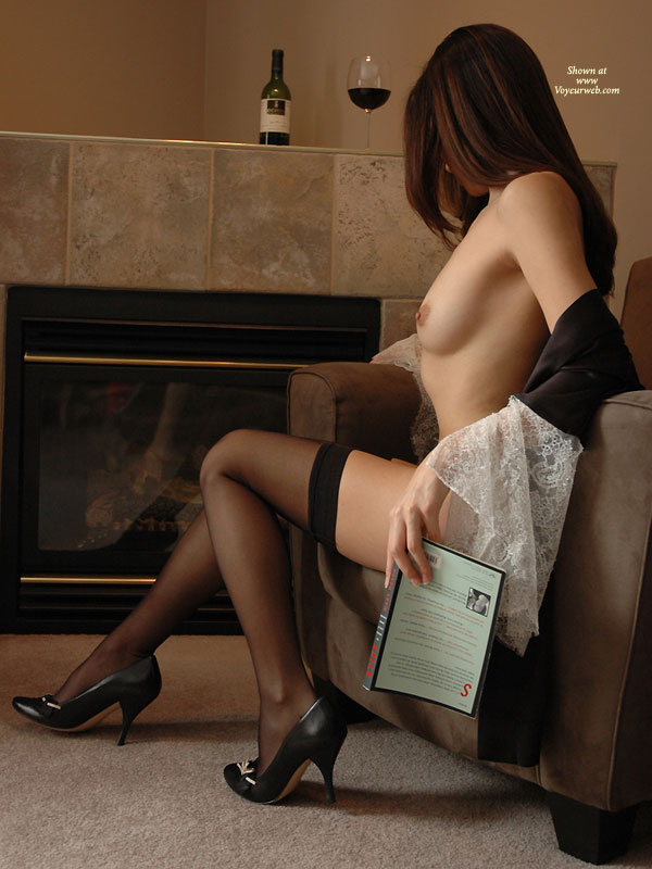 Great Nude Photography - Heels, Long Legs, Perfect Tits, Perky Tits, Small Tits, Stockings, Nude Amateur , Leg Shot, Sexy High Heels, Sitting In An Armchair, Long Silky Legs, Brown Nips On Perky Tits, Thigh Highs, Small Perky Tits, Medium-sized Breast, Black Thigh High Stockings
