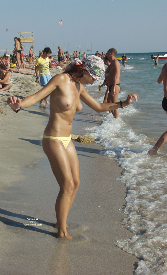 Kazantip Topless 3 , Another Set Of Topless Girls From Kazantip.
