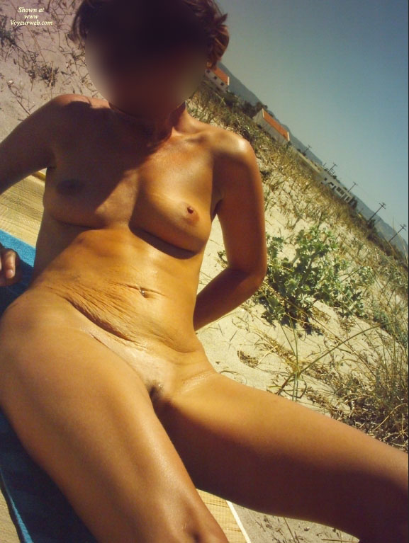 Pic #1First Time Nude On The Beach