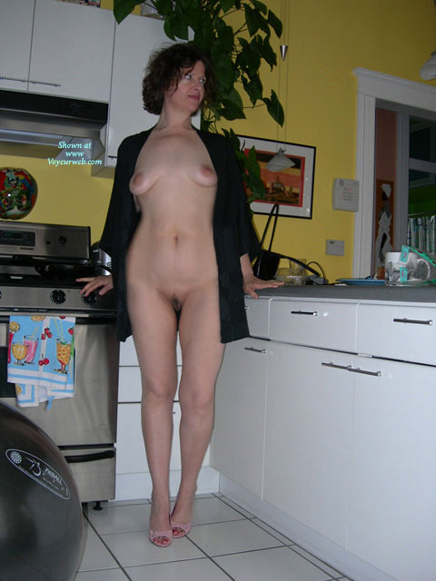 Frontal Nude In The Kitchen - Hairy Bush, Nude Outdoors, Strip , Frontal Nude In The Kitchen, Kitchen Strip, Trimmed Bush, Yellow Kitchen, Long Sleeved Black Business Shirt