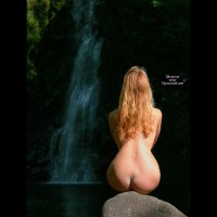 Natural Beauty - Blonde Hair, Long Hair, Red Hair, Nude Amateur , Long Flowing Red Hair, Blond And Curvy, Red Hair Falls, Waterfall, Nice View, Heartbreak Falls, Ass On The Rocks, Nude In Nature, Curvy Nude In Nature, Heart Shaped Butt, Pear-shaped Ass