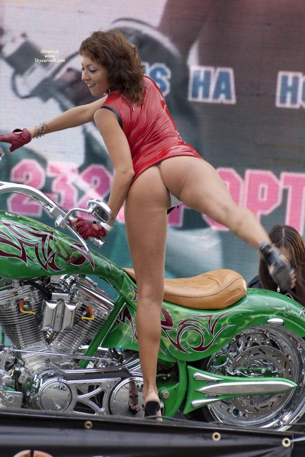 Pic #1Various Motor Show Upskirt 2