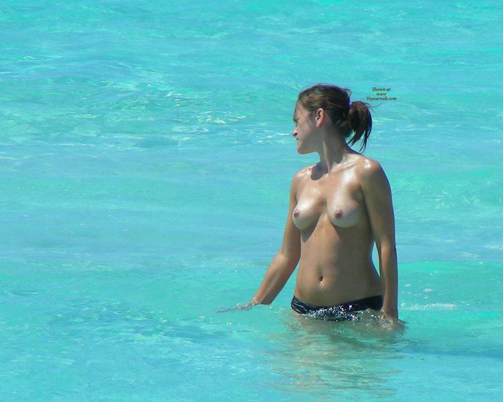 Beach Voyeur: Creaming Small Tits , Mallorca Beach ...