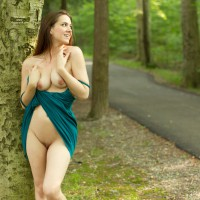 Brunette Flashing Pussy And Tits - Brunette Hair, Erect Nipples, Flashing, Bald Pussy, Naked Girl , No Underwear Under Dress, Bald Beaver, Roadside, Nature Nude, Flashing In The Park, Natural Breasts, Naked In The Woods, Soft Looking Cunny