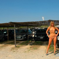 Nude Girlfriend On Heels - Blue Eyes, Shaved Pussy, Naked Girl , Small Nipples, Nude Girl On Heels, Posing Nude Outdoors, Nude Girl Standing In Front Of Parking Lot, Naked Girl Standing Frontal Outdoor, Full Frontal Nude In Parking Lot, Small Niples, Standing Nude In A Car Park