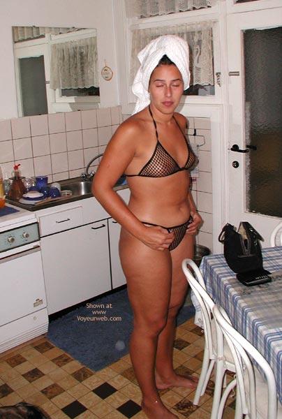 Pic #1 Wearing My Net Bikini