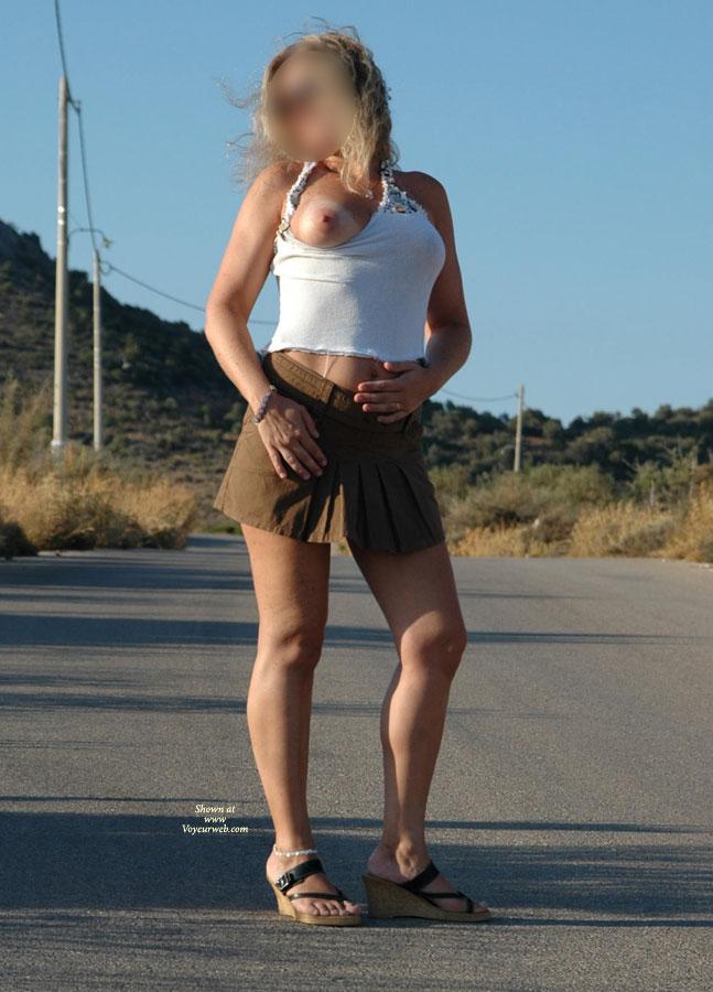 Fantasstic Skirt , Blond Angel On Heat & Promenade...
