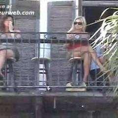 No Panty Upskirts In Key West!!! - Upskirt No Panties