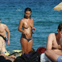 Ibiza Beach Babes , Enjoy The Wonderfull Topless Babes On Balearic Island Ibiza This Fuckin´hot Summer ;) Please Vote For Lots Of More....