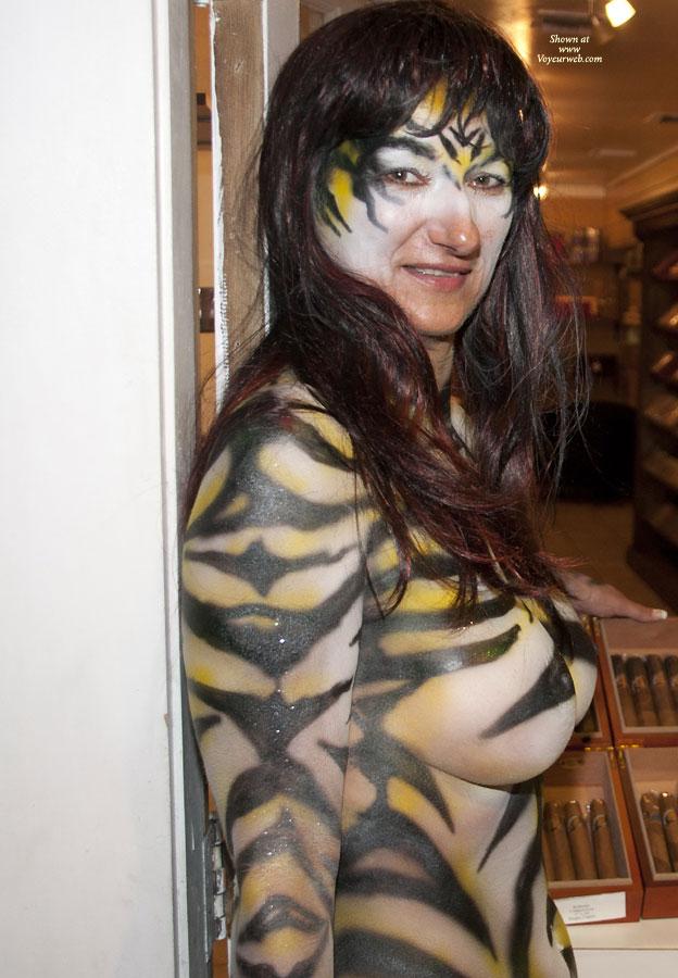 Fantasy Fest 2011 , A German Zebra In Key West