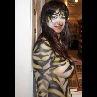 Fantasy Fest 2011 , A German Zebra In Key West