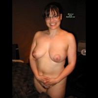 Nude Girl Standing - Black Hair, Glasses, Looking At The Camera , Nude Girl Standing, Wearing Glasses, Smiling Into Camera, Black Hair, Glasses, Happy Curvey Girl On Bed, Nude And Curvey Girl, Brunette Big Tits And Smile