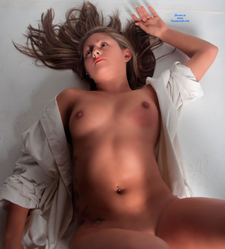 Nude Girl On Bed Like A Doll - November, 2011 - Voyeur Web -2429