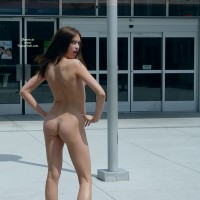 Nude Female Exhibitionist - Dark Hair, Exhibitionist, Flashing, Nude In Public, Naked Girl, Nude Amateur , Nice Pole, Office Building, Firm Ass, Public Nakedness, Angry Greeter, Nice Ass, Tattoo On Shoulder