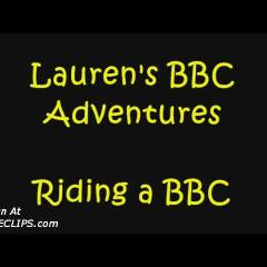 Lauren Riding A Bbc