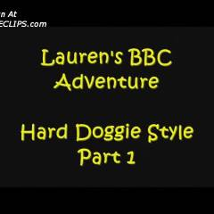 Lauren's Doogie Doing