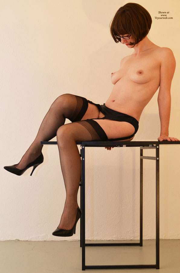 Happens. Let's Stockings on hot wife sitting something