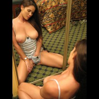 Stroking The Kitty - Brown Hair, Brunette Hair, Large Aerolas, Long Hair , Satisfaction On Display, Nice Tits, Brunette Masterbating, I Like To Watch Myself Getting Off, Long Haired Brunet, Brunette Angel, A Reflection Of Perfection