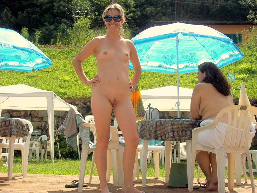 Paradise Pool , My Sweet Wife, Nude In Public