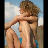 Spread Legs - Blonde Hair, Exposed In Public, Spread Legs, Nude Amateur , Spread Legs, Curly, Nude, Curly Blonde Hair, Open To The Public