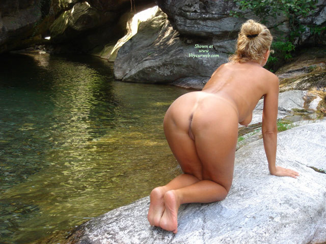 Doggie By The Water - Milf, Naked Girl, Nude Amateur , On Hands And Knees, On All Fours On Rock, Simply Doggy, Backside View, Butt In Nature, Bent Over, Naked On A Rock, Doggystyle, Sexy Milf Tits And Ass, Rear View, Wfi, Nude Kneeling On Rock By Water, Nude Wfi At Quarry, Doggie Position