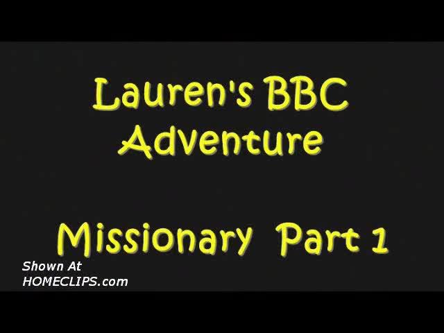 Pic #1Lauren-missionary Bbc